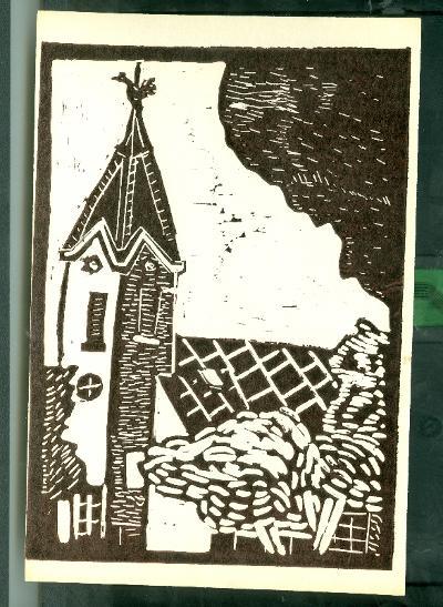 Tiszainoka, Református Templom Magyarország gyermekszemmel linómetszetekben Szávai István és a Szolnoki Metszőkör