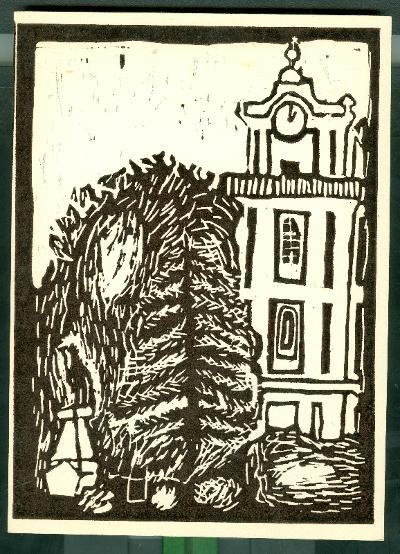 Tiszasas, Református Egyházközség Temploma Magyarország gyermekszemmel linómetszetekben Szávai István és a Szolnoki Metszőkör