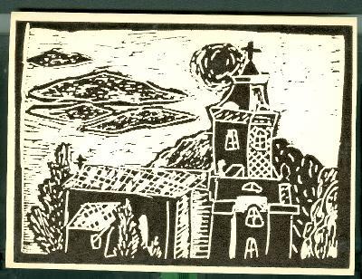 Tiszasüly, Szent László Római Katolikus Templom Magyarország gyermekszemmel linómetszetekben Szávai István és a Szolnoki Metszőkör