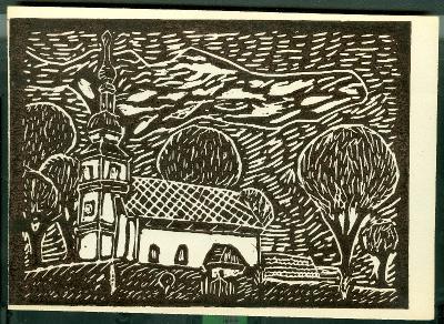 Vezseny, Református Templom Magyarország gyermekszemmel linómetszetekben Szávai István és a Szolnoki Metszőkör