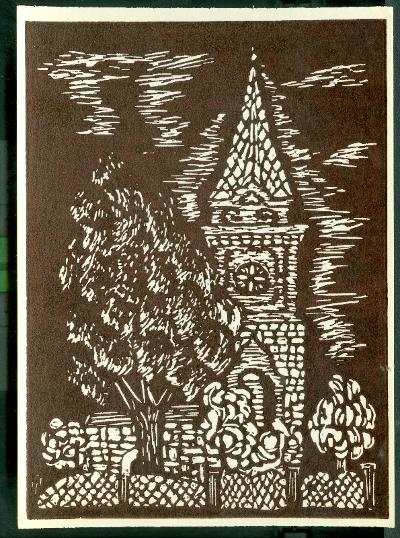 Fegyvernek, Református Missziói Egyházközség Temploma Magyarország gyermekszemmel linómetszetekben Szávai István és a Szolnoki Metszőkör