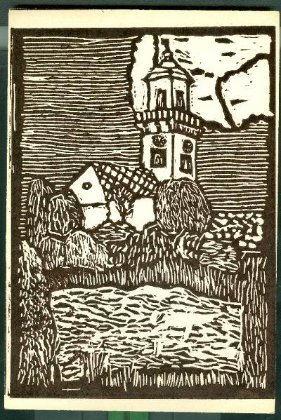 Öcsöd, Református Templom Magyarország gyermekszemmel linómetszetekben Szávai István és a Szolnoki Metszőkör