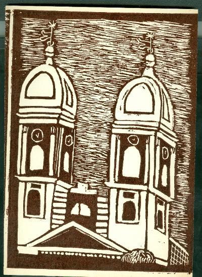 Kunhegyes, Református Templom Magyarország gyermekszemmel linómetszetekben Szávai István és a Szolnoki Metszőkör