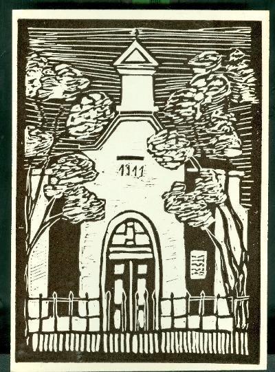 Szolnok-Szandaszőlős, Római Katolikus Templom Magyarország gyermekszemmel linómetszetekben Szávai István és a Szolnoki Metszőkör