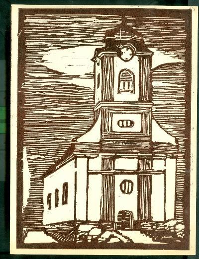 Csépa, Római Katolikus Templom Magyarország gyermekszemmel linómetszetekben Szávai István és a Szolnoki Metszőkör