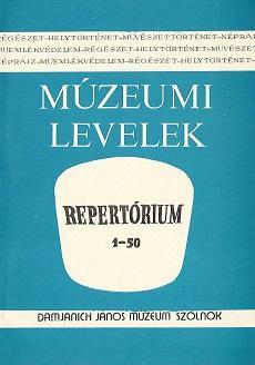 Múzeumi levelek, 57-58
