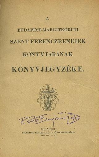 Könyvjegyzék