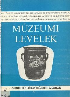 Múzeumi levelek, 63-64