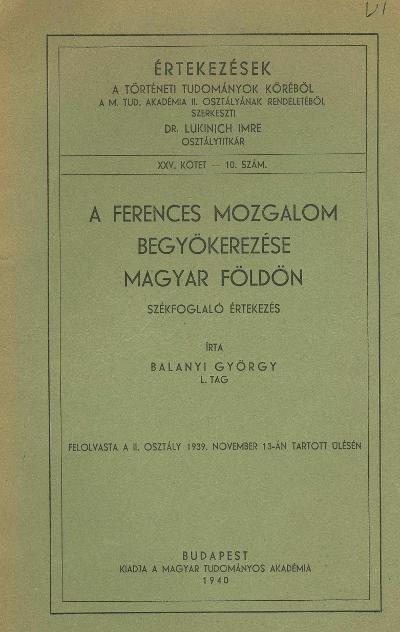 Balanyi György