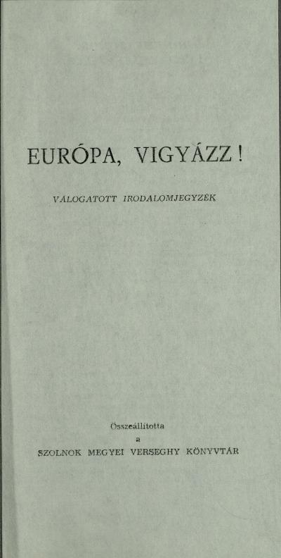 Bibliográfia 1961