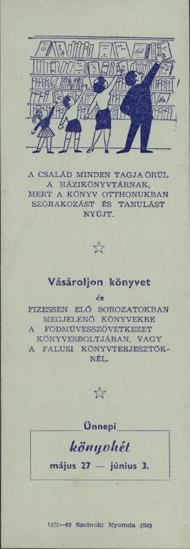 verseghy könyvtár 1962