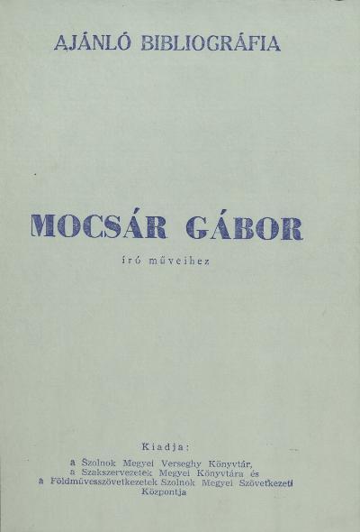 Mocsár Gábor 1962