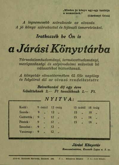 Kunszentmárton 1961