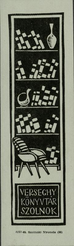 Könyvjelző 1963