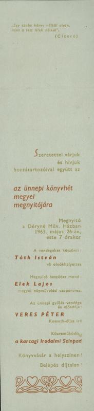 Karcag 1963