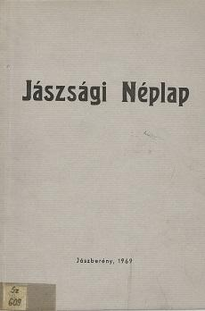 Jászsági Néplap 1969 reprint