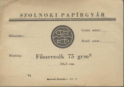 Szolnoki Papírgyár (75 gr/m2)