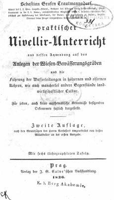 Trautmannsdorf, Sebastian 1836