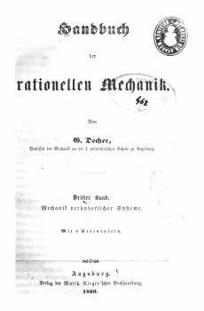 Decher, Georg 3/1860