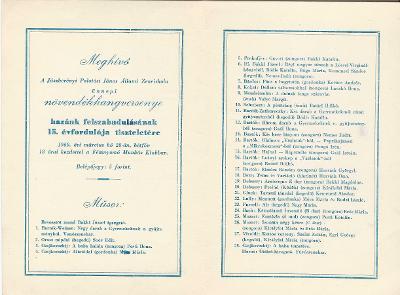 Meghívó a jászberényi palotási János Állami Zeneiskola ünnepi növendékhangversenyére