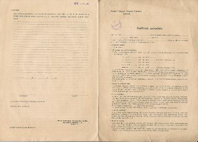 A Szolnok Megyei Tejipari Vállalat Szállítási szerződése