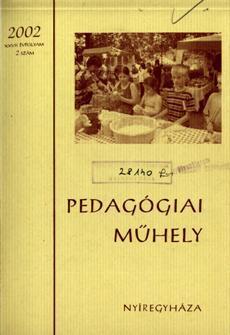 Pedagógiai Műhely 2002 2