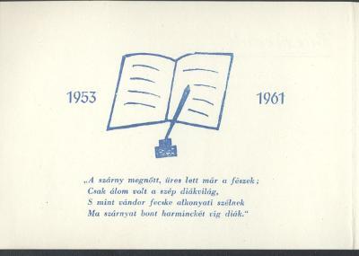 A jászberényi Kossuth Lajos úti Általános Iskola ballagási meghívója