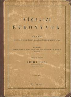 Vízrajzi Évkönyv 1895-1897. VIII. kötet