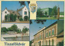 Tiszaföldvár képeslap