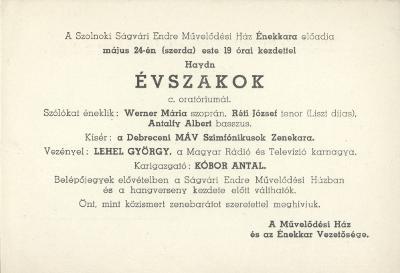 Haydn - Évszakok