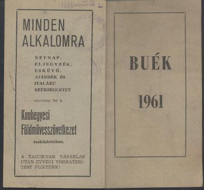 BUÉK 1961