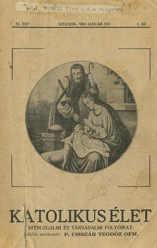 Katolikus élet - 1934