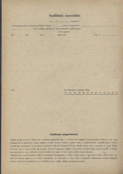 Szállítási szerződés