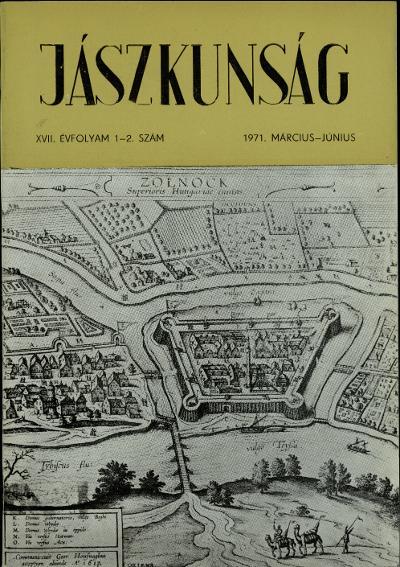 Jászkunság címoldala 1971