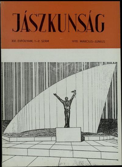 Jászkunság címlapja 1970