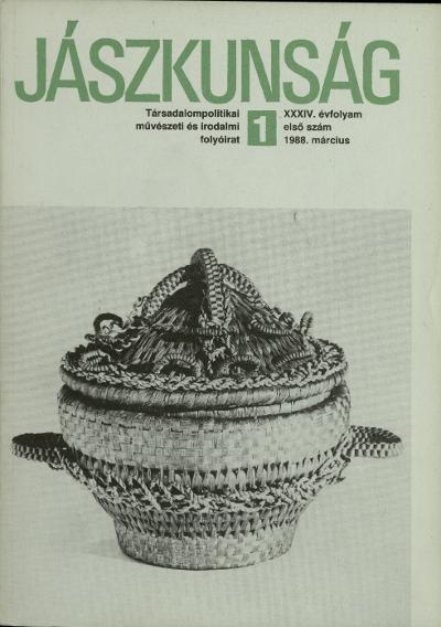 Jászkunság címlapja 1988