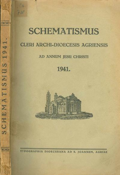 Agriensis 1941