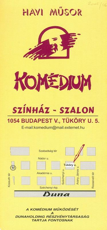 Komédium 2002 november