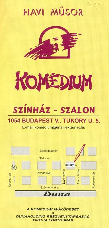 Komédium 2002 december