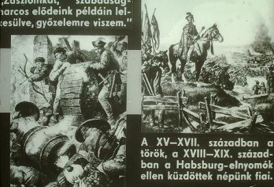 XVIII - XIX. században a Habsburg elnyomók ellen küzdöttek népünk fiai