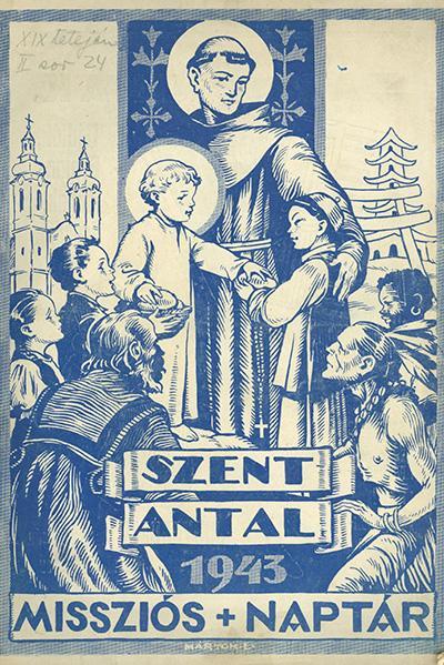 Szent Antal -1943- Missziós naptár