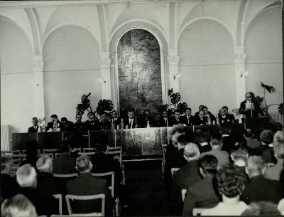 Szolnok megyeháza díszterme 1969