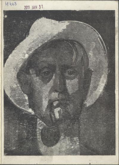 Meghívó a Magyar Nemzeti Galéria és a szolnoki Damjanich János Múzeum Aba-Novák emlékkiállítására