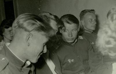 Szovjet kiskatonák Szolnokon 1958