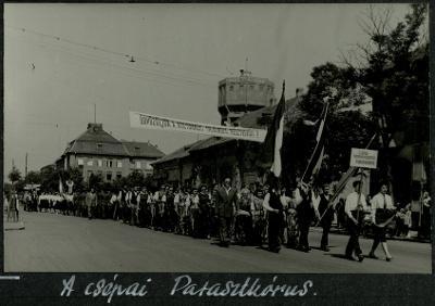Csépai parasztkórus 1958
