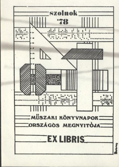 Műszaki Könyvnapok Országos megnyitója, Ex libris