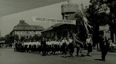 Cibaki földszövetkezet kórusa 1958