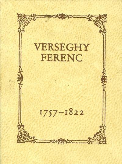 Verseghy Ferenc Erkölcsi levelek