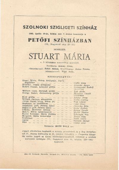 Schiller: Stuart Mária