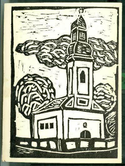 Nagyrév, Református Templom Magyarország gyermekszemmel linómetszetekben Szávai István és a Szolnoki Metszőkör